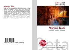 Bookcover of Alighiero Tondi