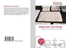Buchcover von Alignement von Clendy