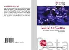 Buchcover von Malayan Slit-Faced Bat