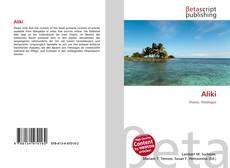 Bookcover of Aliki