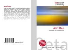 Bookcover of Alim Khan