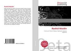 Capa do livro de Rashid Maidin