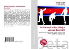 Borítókép a  Uniform Number (Major League Baseball) - hoz