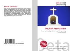 Обложка Paulian Association
