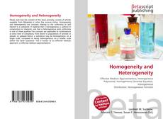 Homogeneity and Heterogeneity的封面