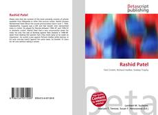 Bookcover of Rashid Patel