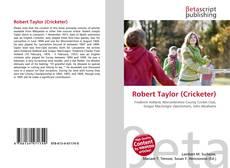 Robert Taylor (Cricketer)的封面