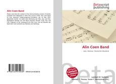 Buchcover von Alin Coen Band