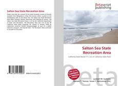 Bookcover of Salton Sea State Recreation Area