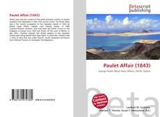 Bookcover of Paulet Affair (1843)