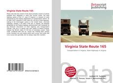 Capa do livro de Virginia State Route 165