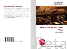 Capa do livro de South Bethlehem, New York