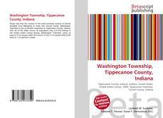Bookcover of Washington Township, Tippecanoe County, Indiana