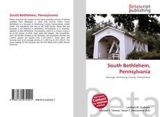 Capa do livro de South Bethlehem, Pennsylvania