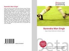 Bookcover of Narendra Man Singh