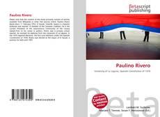 Copertina di Paulino Rivero
