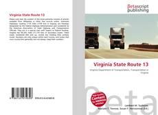 Copertina di Virginia State Route 13