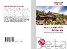 Обложка South Bougainville Languages