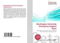 Bookcover of Washington University Emergency Support Team