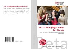 Bookcover of List of Multiplayer Game Boy Games