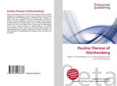 Bookcover of Pauline Therese of Württemberg