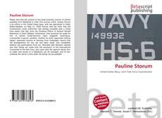 Buchcover von Pauline Storum