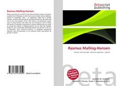 Capa do livro de Rasmus Malling-Hansen