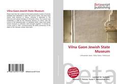 Обложка Vilna Gaon Jewish State Museum