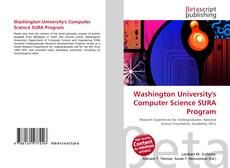 Couverture de Washington University's Computer Science SURA Program