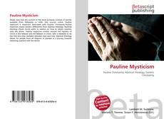 Pauline Mysticism的封面