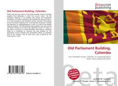 Bookcover of Old Parliament Building, Colombo