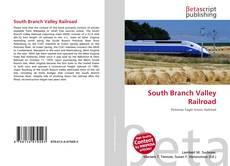 Buchcover von South Branch Valley Railroad