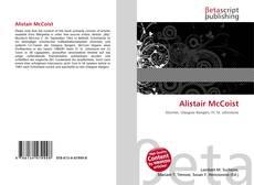 Bookcover of Alistair McCoist