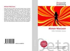 Bookcover of Alistair MacLean