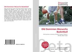 Bookcover of Old Dominion Monarchs Basketball
