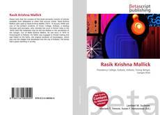 Rasik Krishna Mallick的封面