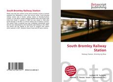 Bookcover of South Bromley Railway Station