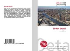 Bookcover of South Bronx