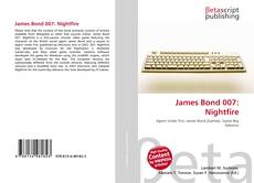 Capa do livro de James Bond 007: Nightfire