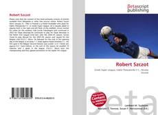 Robert Szczot kitap kapağı