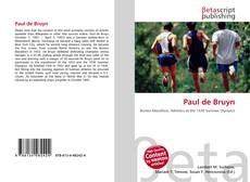 Paul de Bruyn的封面