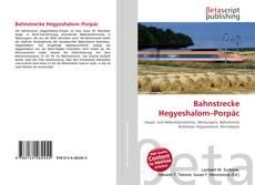 Portada del libro de Bahnstrecke Hegyeshalom–Porpác