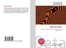 Capa do livro de Alix Le Clerc
