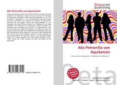 Bookcover of Alix Petronilla von Aquitanien