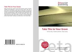 Buchcover von Take This to Your Grave