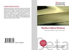 Portada del libro de Paullus Fabius Persicus