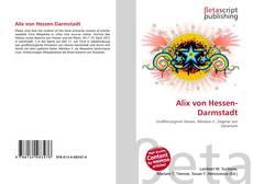 Bookcover of Alix von Hessen-Darmstadt