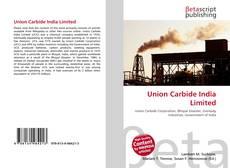 Union Carbide India Limited的封面