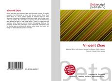 Bookcover of Vincent Zhao