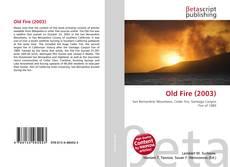 Capa do livro de Old Fire (2003)